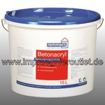 Betonfarbe Acryl weiss/RAL (Color PA) -12,5 Liter