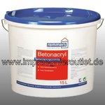 Betonfarbe Acryl weiss/RAL - (15 Liter)